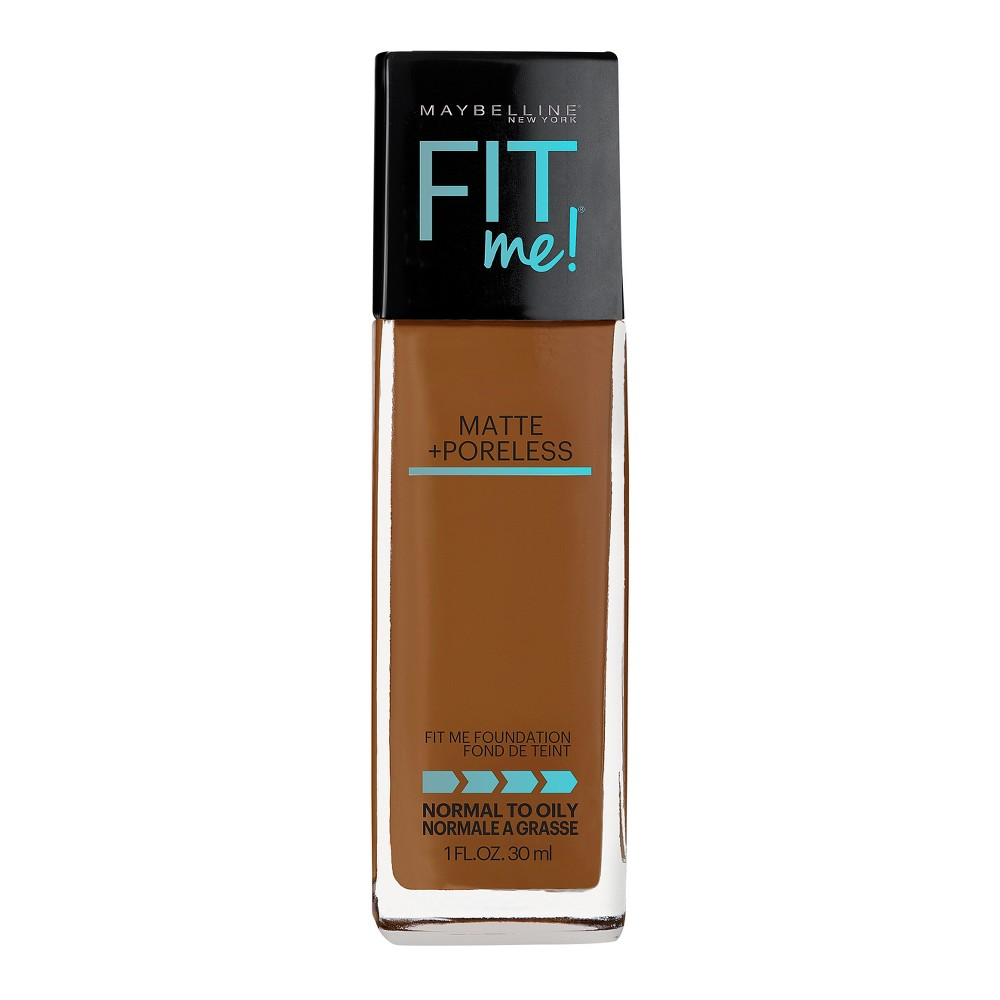 MaMaybelline Fit Me Matte + Poreless Oil Free Foundation - 356 Warm Coconut - 1 fl oz from Maybelline