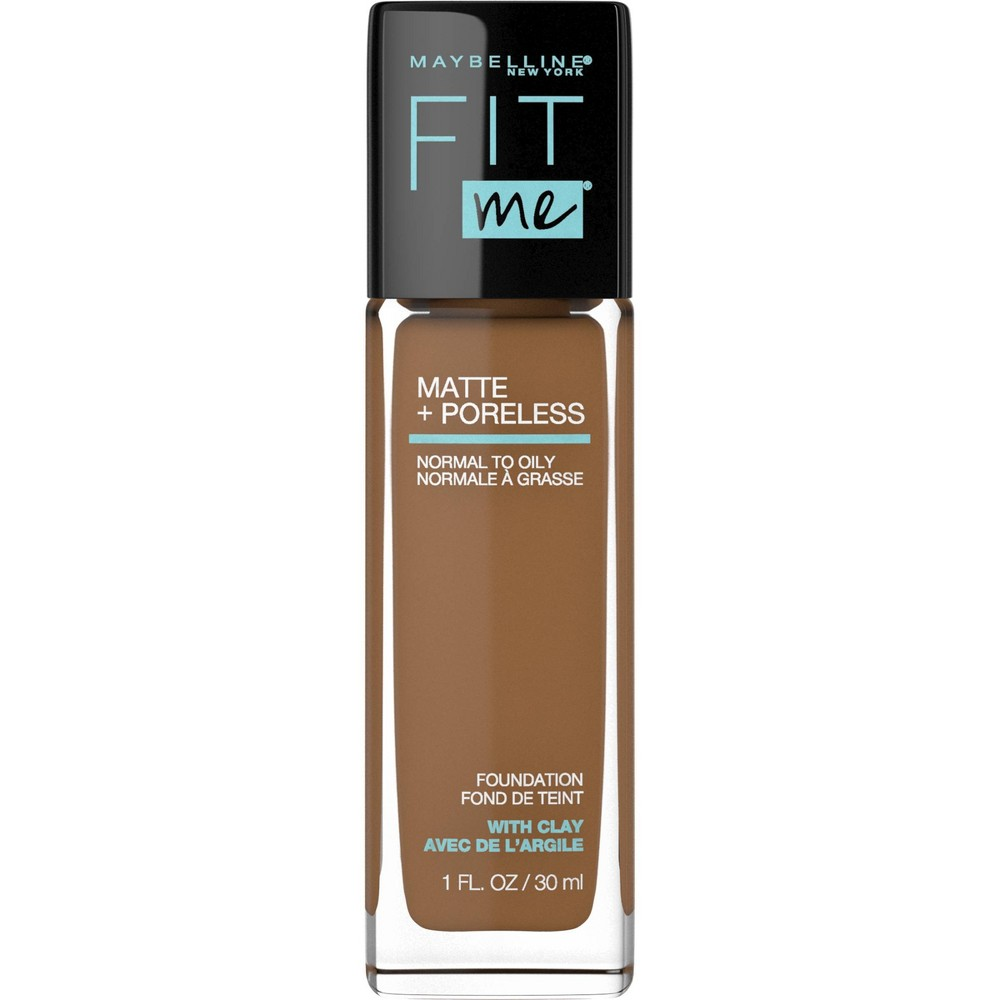Maybelline Fit Me Matte + Poreless Oil Free Foundation - 362 Truffle - 1 fl oz from Maybelline