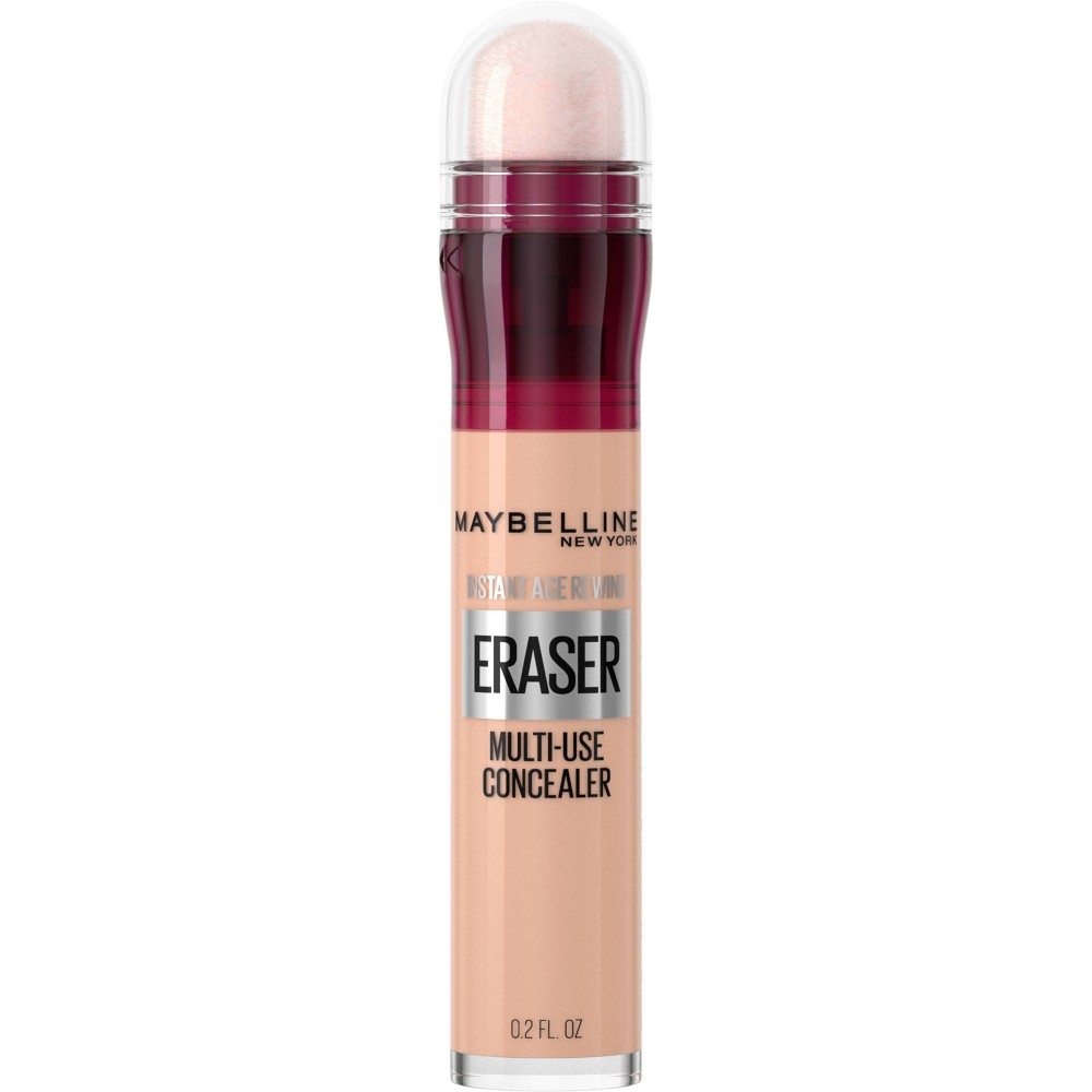 Maybelline Instant Age Rewind Multi-Use Concealer Medium to Full Coverage - 121 Light Honey - 0.2 fl oz from Maybelline