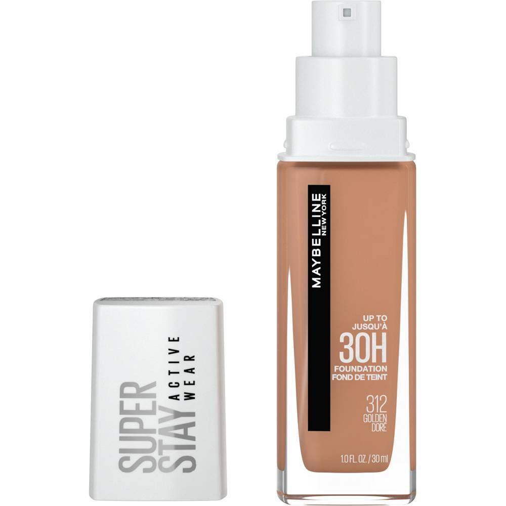 Maybelline Super Stay Full Coverage Liquid Foundation - 312 Golden - 1 fl oz from Maybelline
