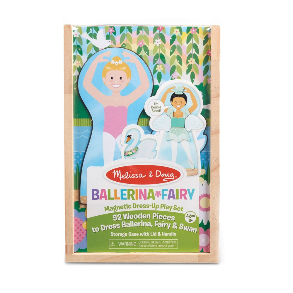 Melissa & Doug Magnetic Dress-Up Play Set - Ballerina/Fairy from Melissa & Doug