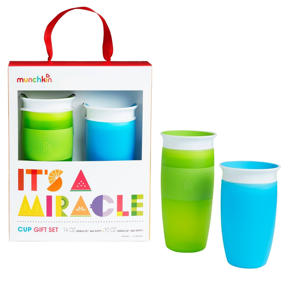 Munchkin It's a Miracle! 360 Cups Gift Set - Blue/Green from Munchkin