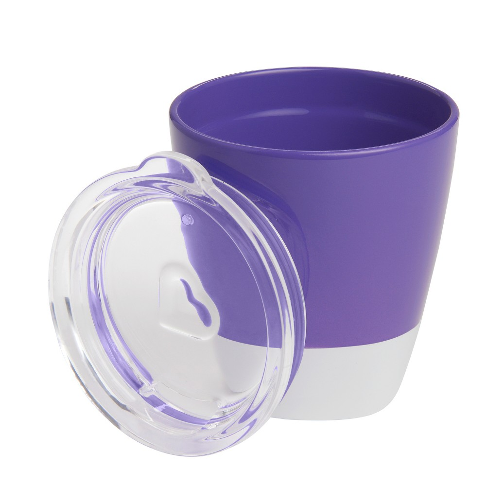 Munchkin Splash Toddler Cup with Training Lid - Purple - 8oz from Munchkin