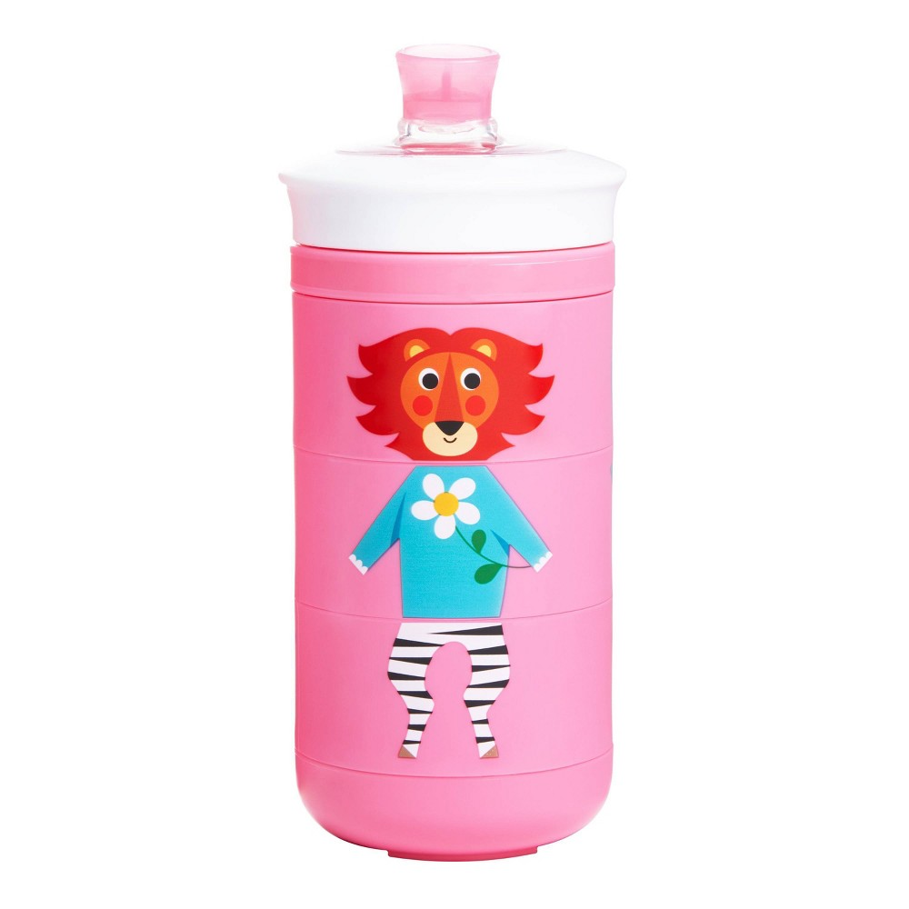 Munchkin Twisty Mix & Match Animals Bite Proof Sippy Cup - 9oz - Pink from Munchkin