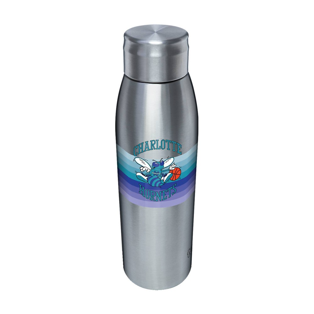 NBA Charlotte Hornets 17oz Retro Stripe Stainless Water Bottle from NBA