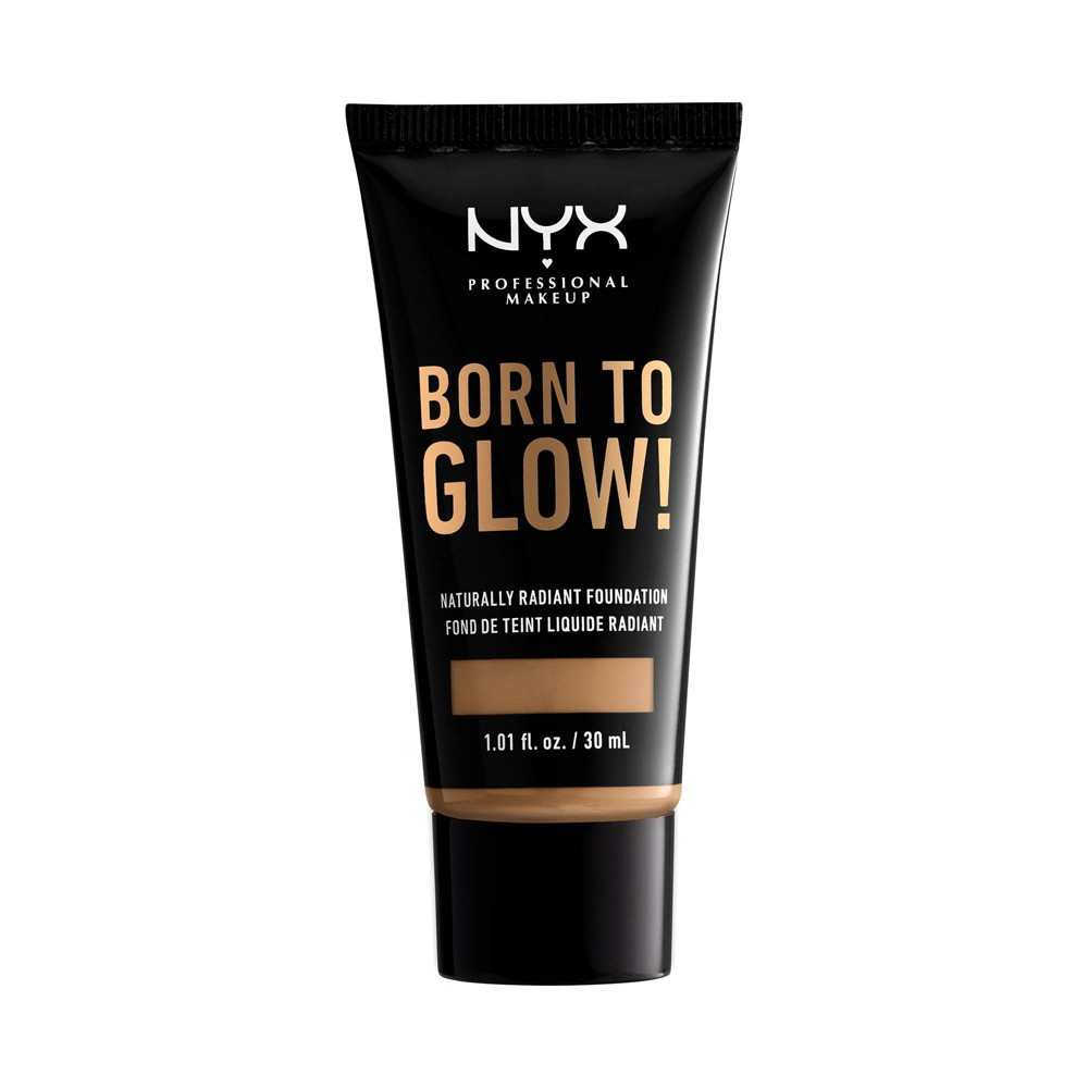 NYX Professional Makeup Born To Glow Radiant Foundation - 13 Golden - 1.01 fl oz from NYX Professional Makeup