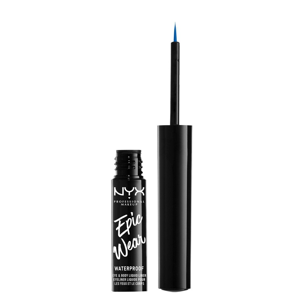 NYX Professional Makeup Epic Wear Eye & Body Long-Wear Liquid Liner Sapphire Blue - 0.07 fl oz from NYX Professional Makeup