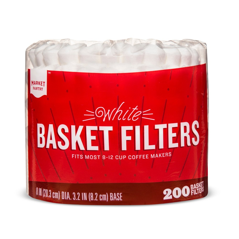 White Coffee Filters - 200ct - Market Pantry from Market Pantry