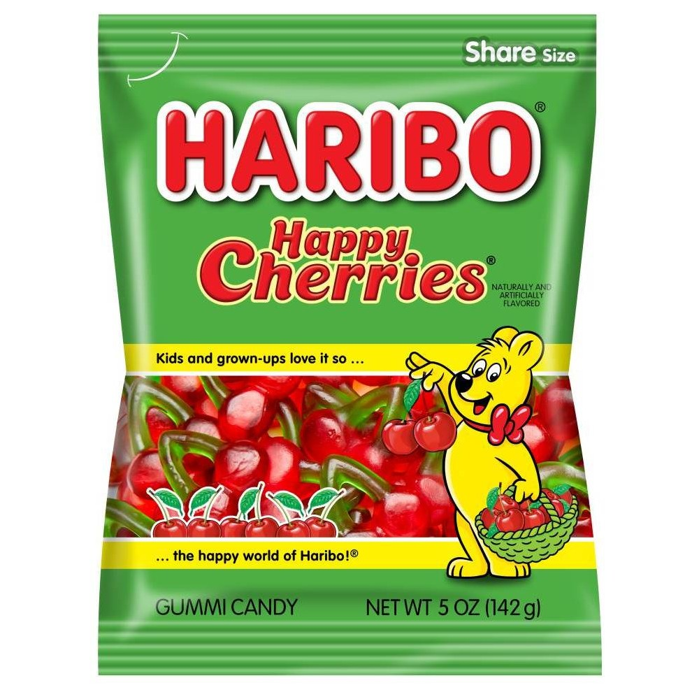 Haribo Happy Cherries Gummi Candy - 5.29oz from HARIBO