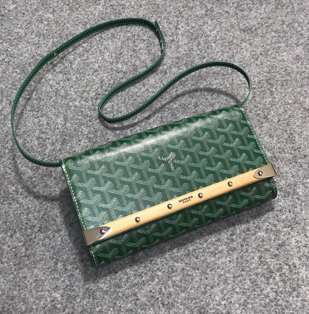 New Single Shoulder Slung Bag Retro Wood Strip Decorative High-end Temperament Packet