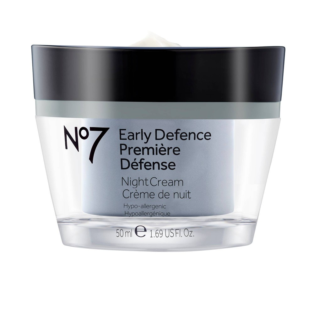 No7 Early Defence Night Cream - 1.6oz