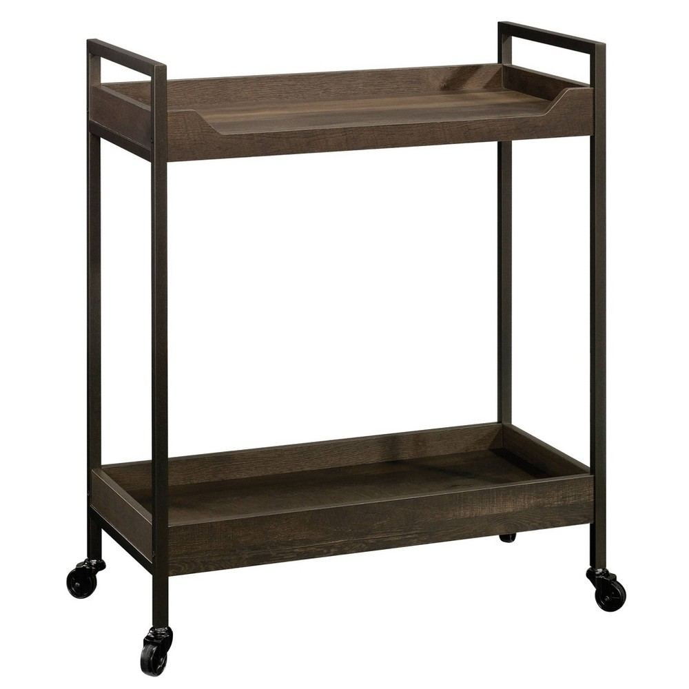 North Avenue Cart Smoked Oak - Sauder from Sauder