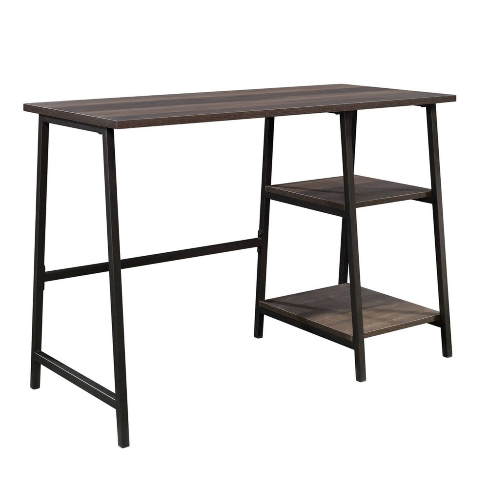 North Avenue Single Desk Smoked Oak - Sauder from Sauder