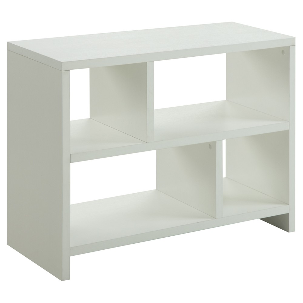 Northfield Console Bookcase White - Breighton Home from Breighton Home