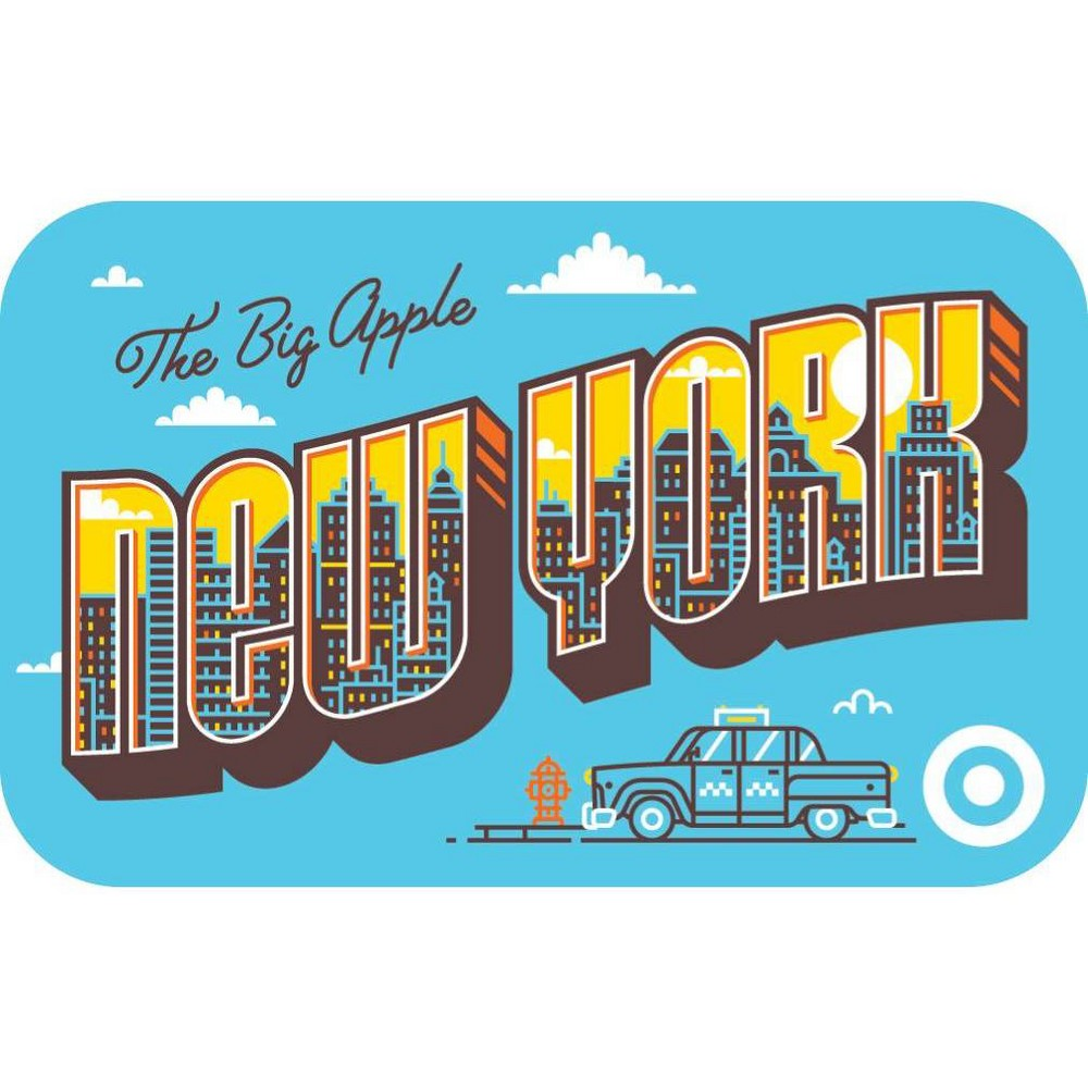 NYC Postcard $100 GiftCard from Target
