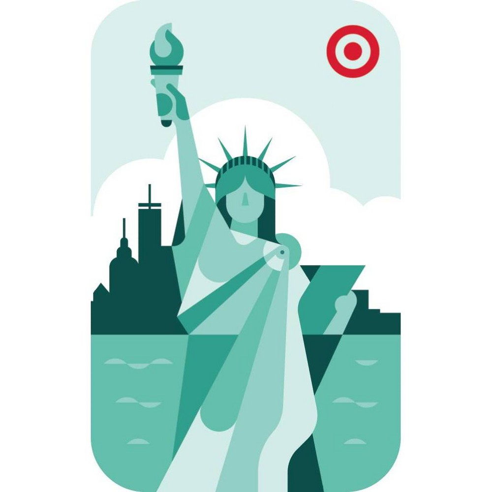 NYC Statue $25 GiftCard, Target GiftCards from Target