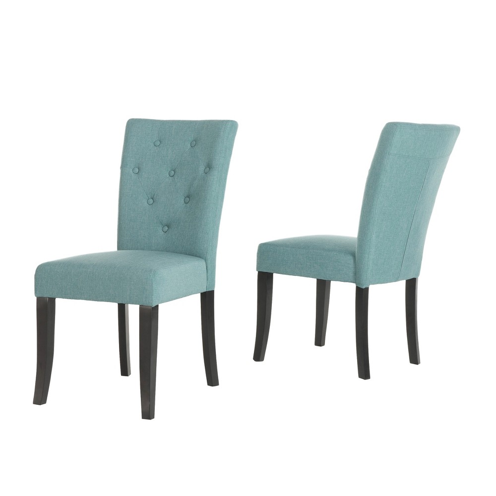 Set of 2 Nyomi Dining Chair Blue - Christopher Knight Home from Christopher Knight Home