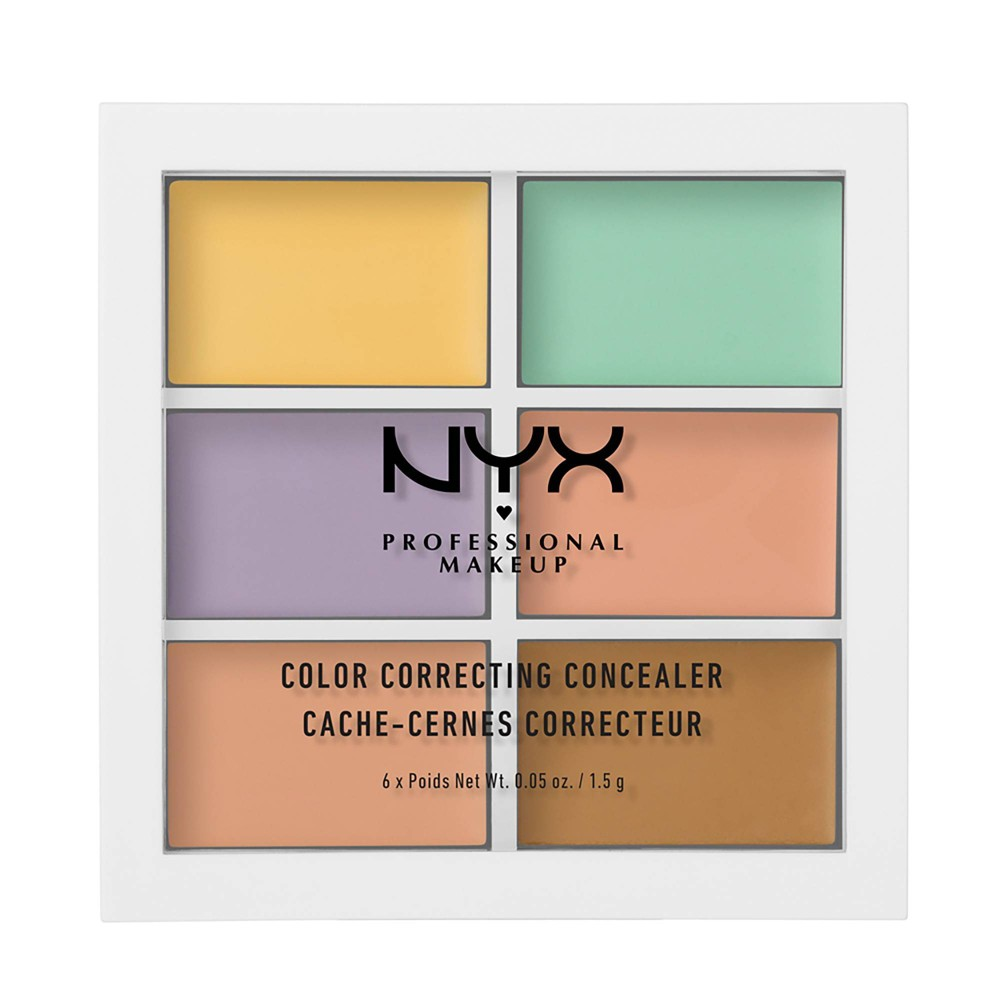 NYX Professional Makeup Color Correcting Palette - Medium - 0.15oz from NYX Professional Makeup