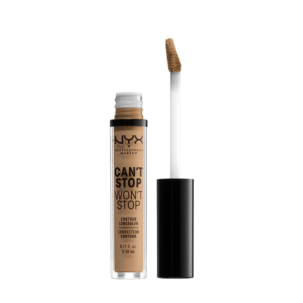 NYX Professional Makeup Can't Stop Won't Stop Contour Concealer - 15 Caramel - 0.11 fl oz from NYX Professional Makeup
