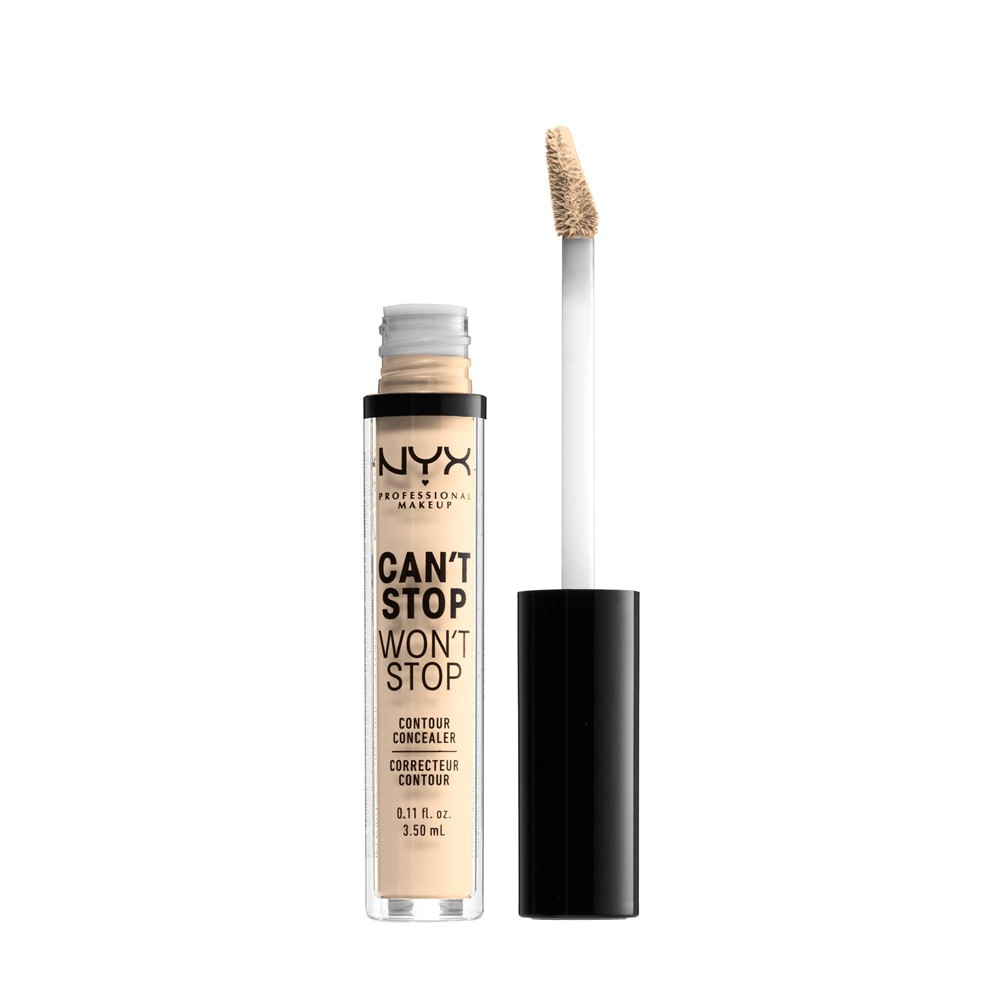 NYX Professional Makeup Can't Stop Won't Stop Contour Concealer - 01 Pale - 0.11 fl oz from NYX Professional Makeup