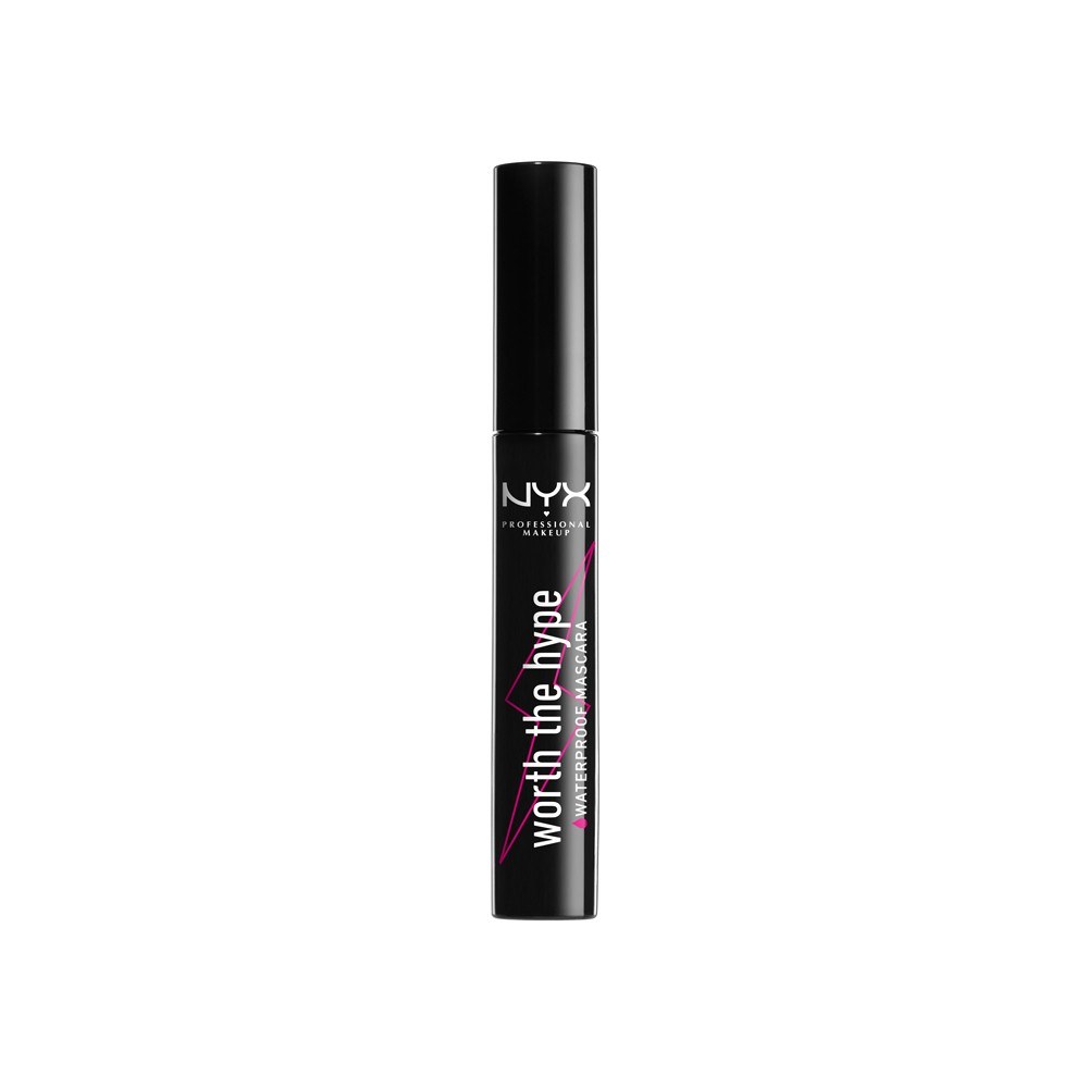 NYX Professional Makeup Worth The Hype Waterproof Mascara Black from NYX Professional Makeup