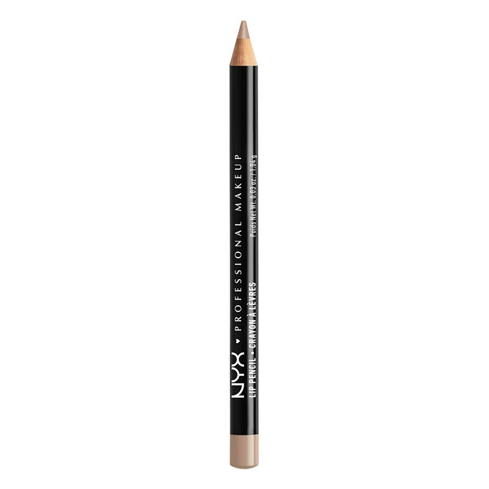 NYX Professional Makeup Long-lasting Slim Lip Pencil - Creamy Lip Liner - Nude Beige - 0.04oz from NYX Professional Makeup