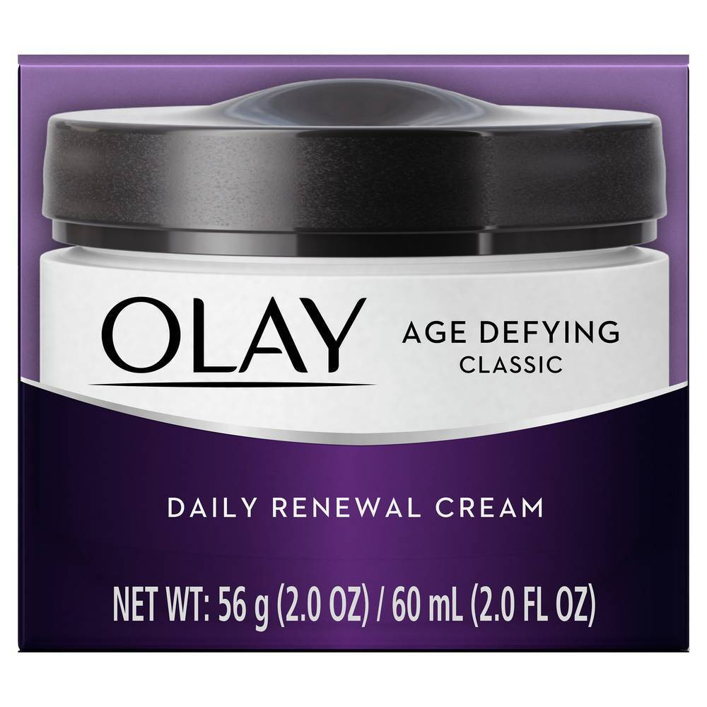 Olay Age Defying Classic Daily Renewal Cream Facial Moisturizer - 2oz from Olay