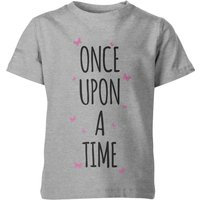 My Little Rascal Once Upon A Time Kid's Grey T-Shirt - 3-4yrs - Grey from My Little Rascal