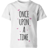 My Little Rascal Once Upon A Time Kid's White T-Shirt - 7-8yrs - White from My Little Rascal