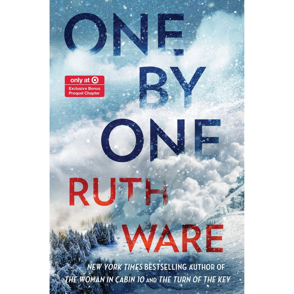 One by One - Target Exclusive Edition by Ruth Ware (Hardcover) from Simon & Schuster