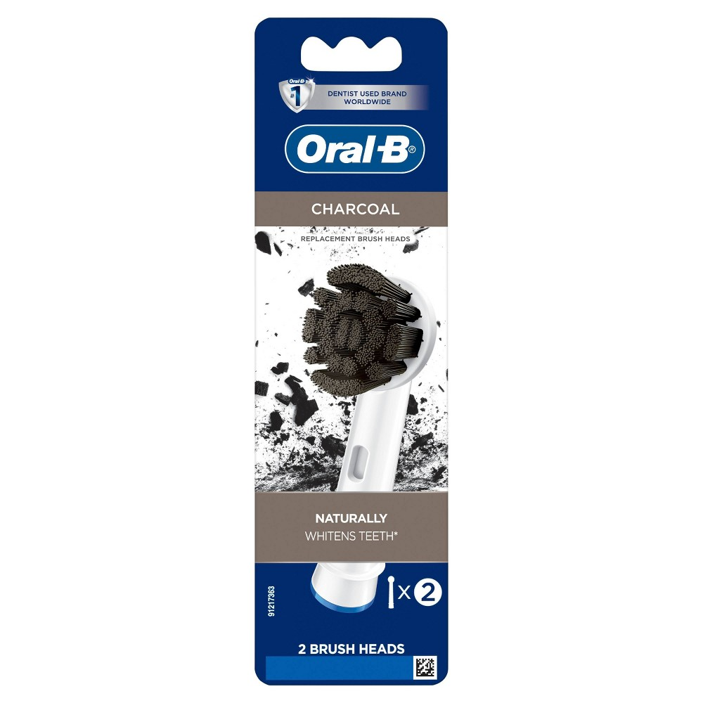 Oral-B Charcoal Electric Toothbrush Replacement Brush Heads Refill - 2ct from Oral-B