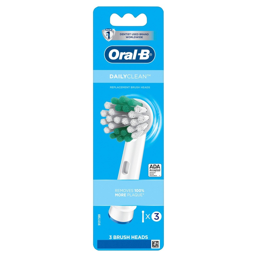 Oral-B Daily Clean Electric Toothbrush Refill Heads - 3ct from Oral-B