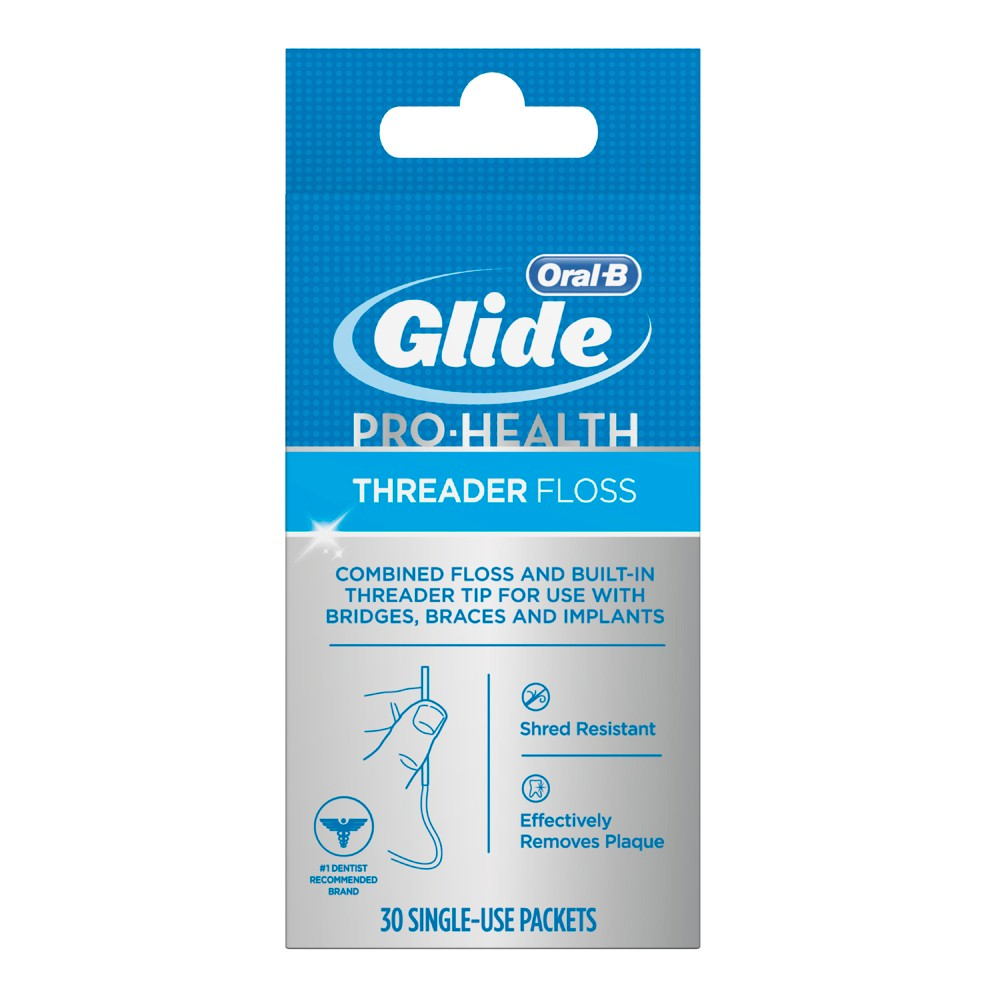 Oral-B Glide Pro-Health Threader Floss - 30ct from Oral-B