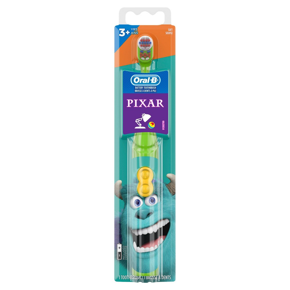 Disney Pixar Featuring Toy Story Kid's Battery Soft Bristles Toothbrush for Kids 3+ from Oral-B