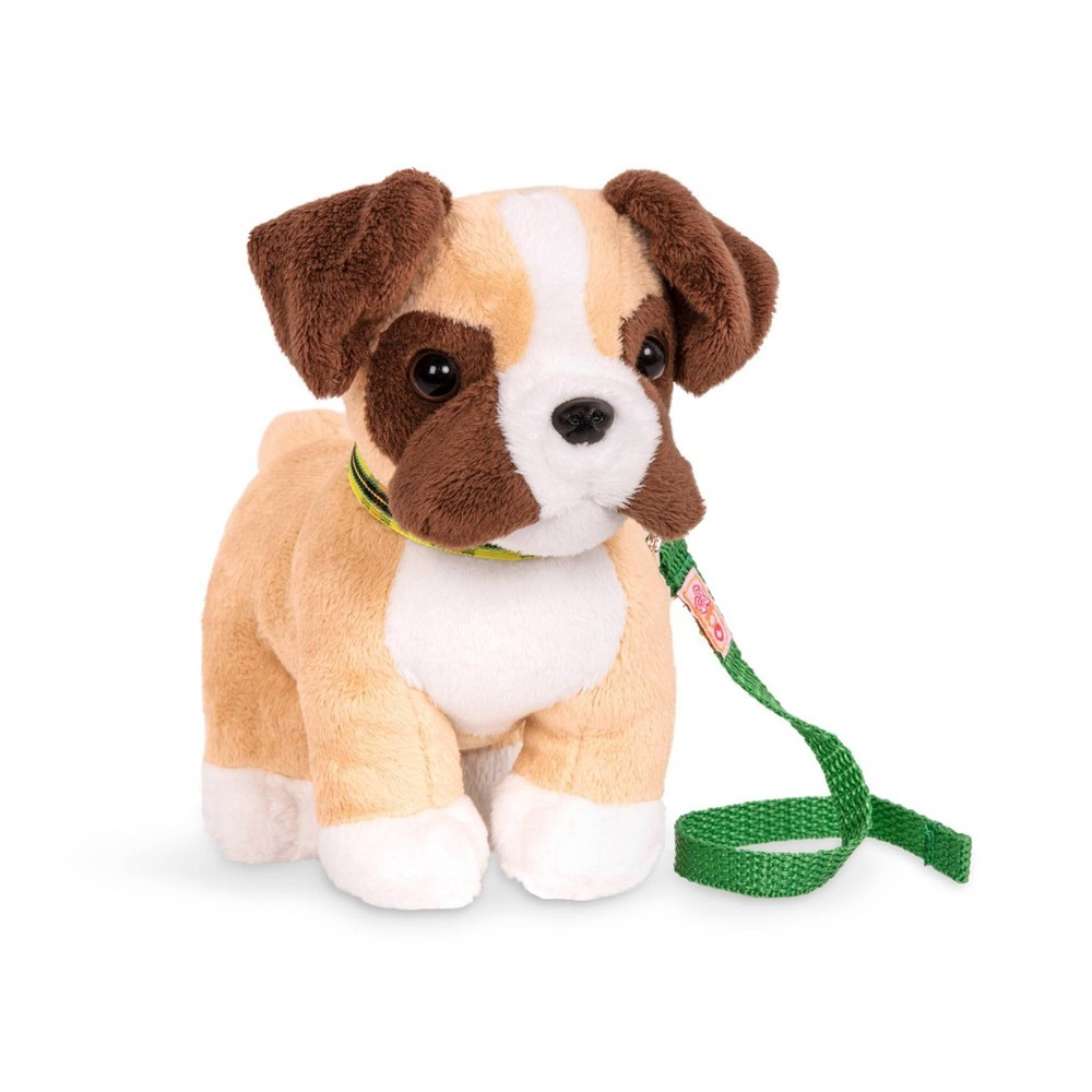 Our Generation Pet Dog Plush with Posable Legs - Boxer Pup from Our Generation