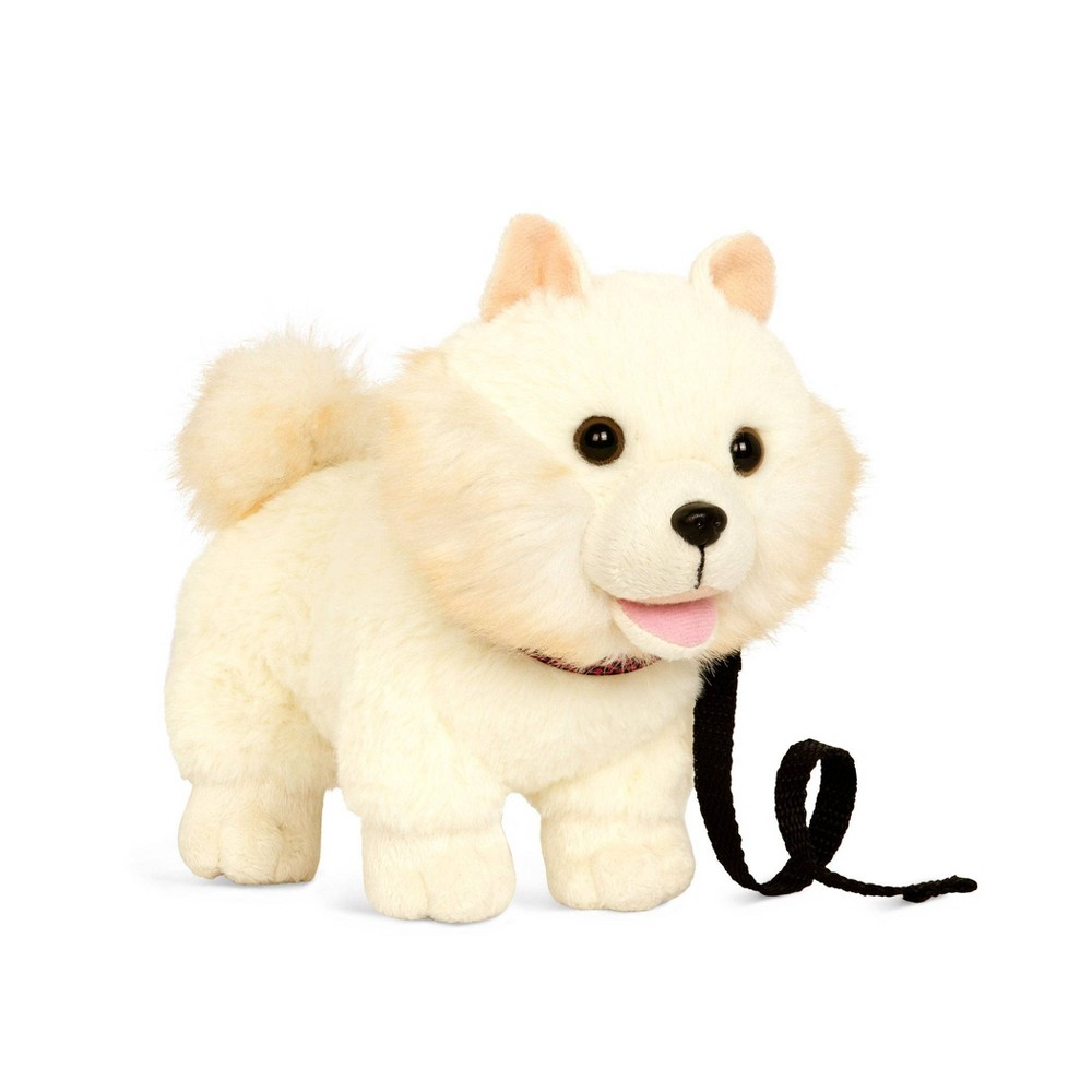 Our Generation Pet Dog Plush with Posable Legs - Pomeranian Pup from Our Generation