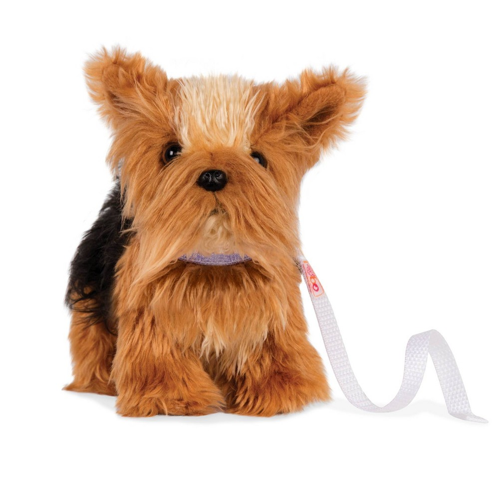 Our Generation Pet Dog Plush with Posable Legs - Yorkshire Terrier Pup from Our Generation