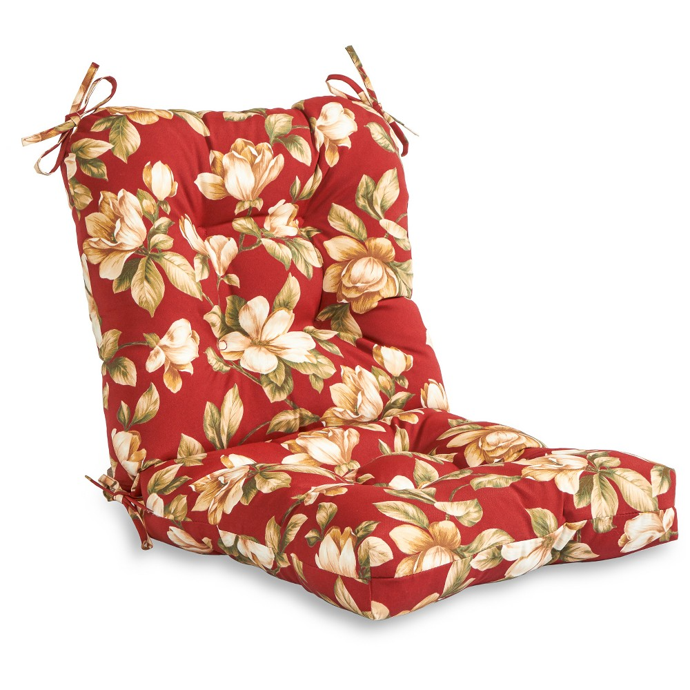 Outdoor Seat/Back Combo Cushion - Roma Floral - Greendale Home Fashions