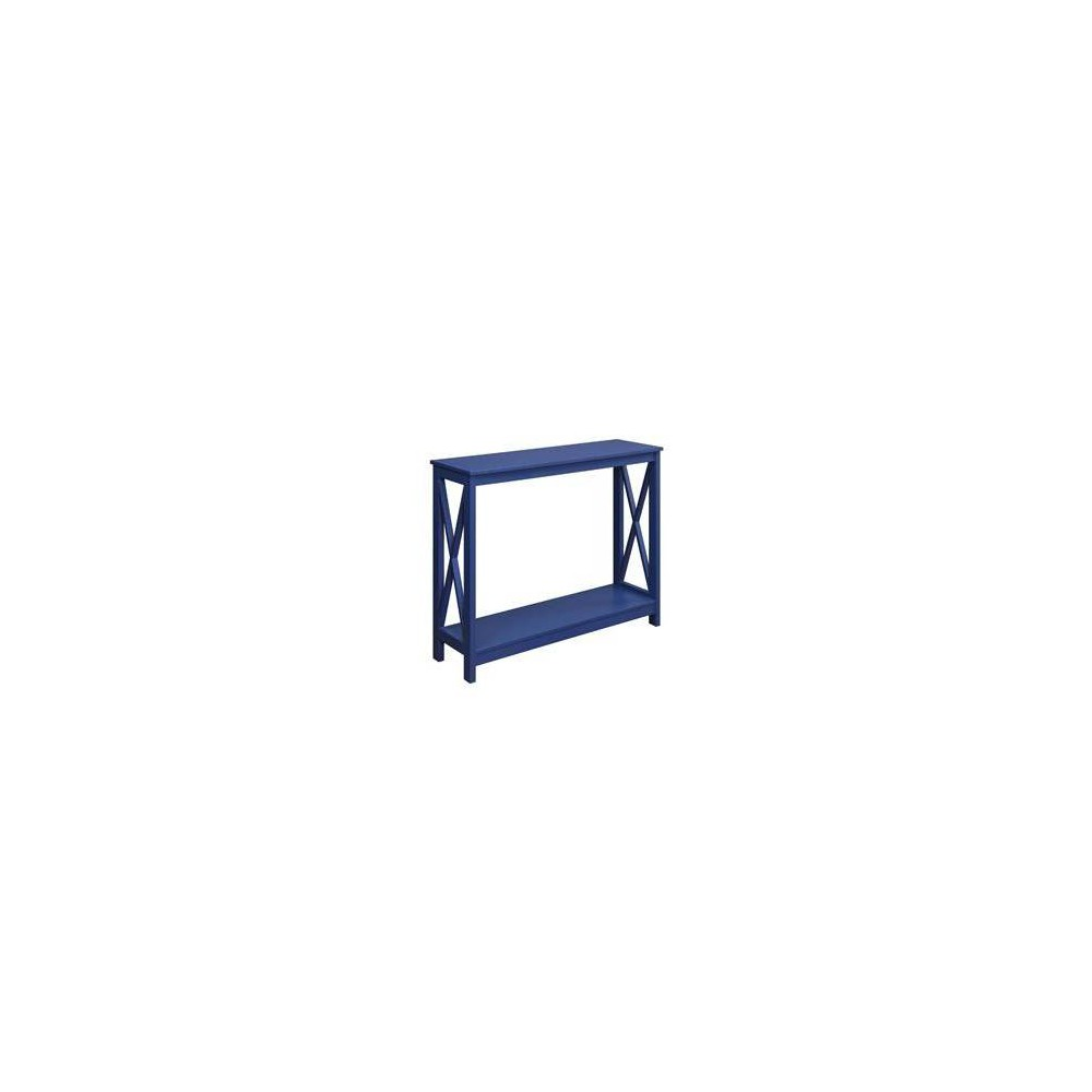 Oxford Console Table Cobalt Blue - Breighton Home from Breighton Home