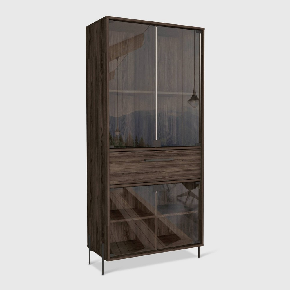 Page Pantry Cabinet Brown - RST Brands from RST Brands