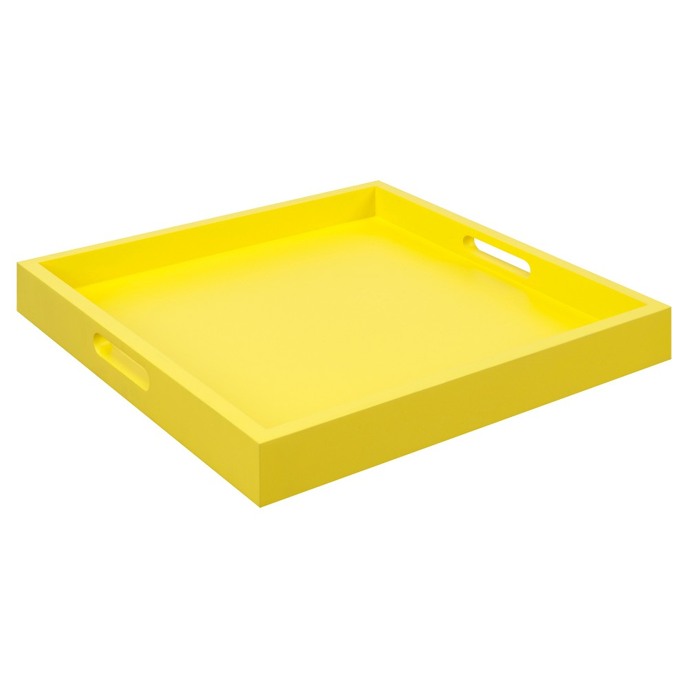 Palm Beach Tray Yellow - Breighton Home from Breighton Home