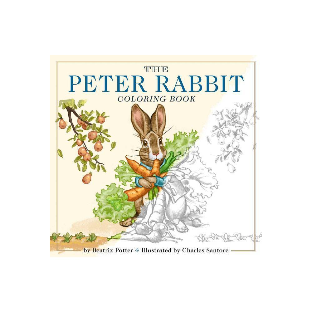 The Peter Rabbit Coloring Book - (Classic Edition) by Beatrix Potter (Paperback) from Gold Medal