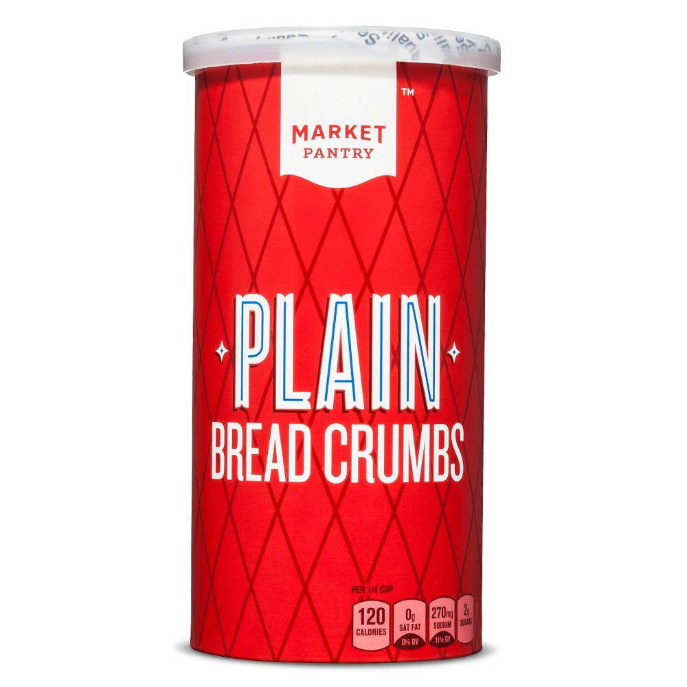 Plain Bread Crumbs 15oz - Market Pantry from Market Pantry