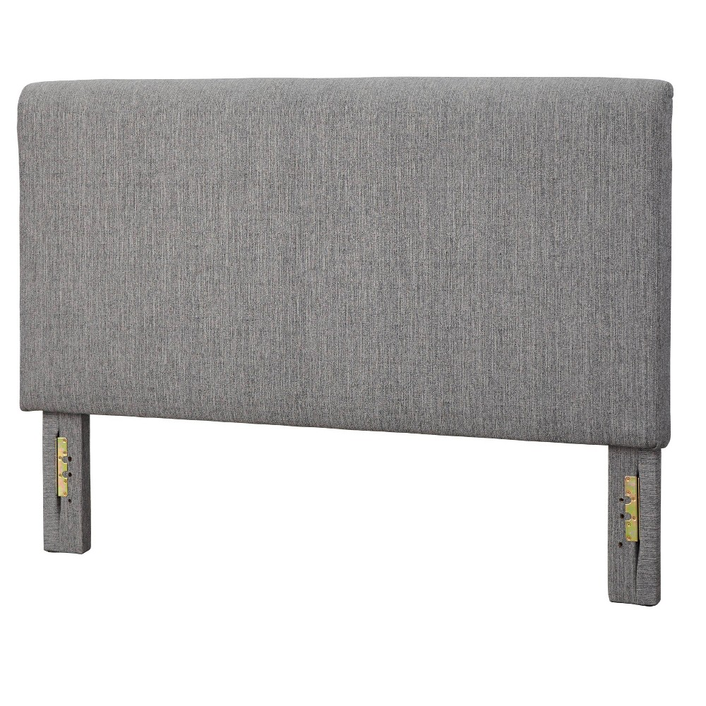 Queen Emery Upholstered Headboard Gray - Lifestorey from Lifestorey