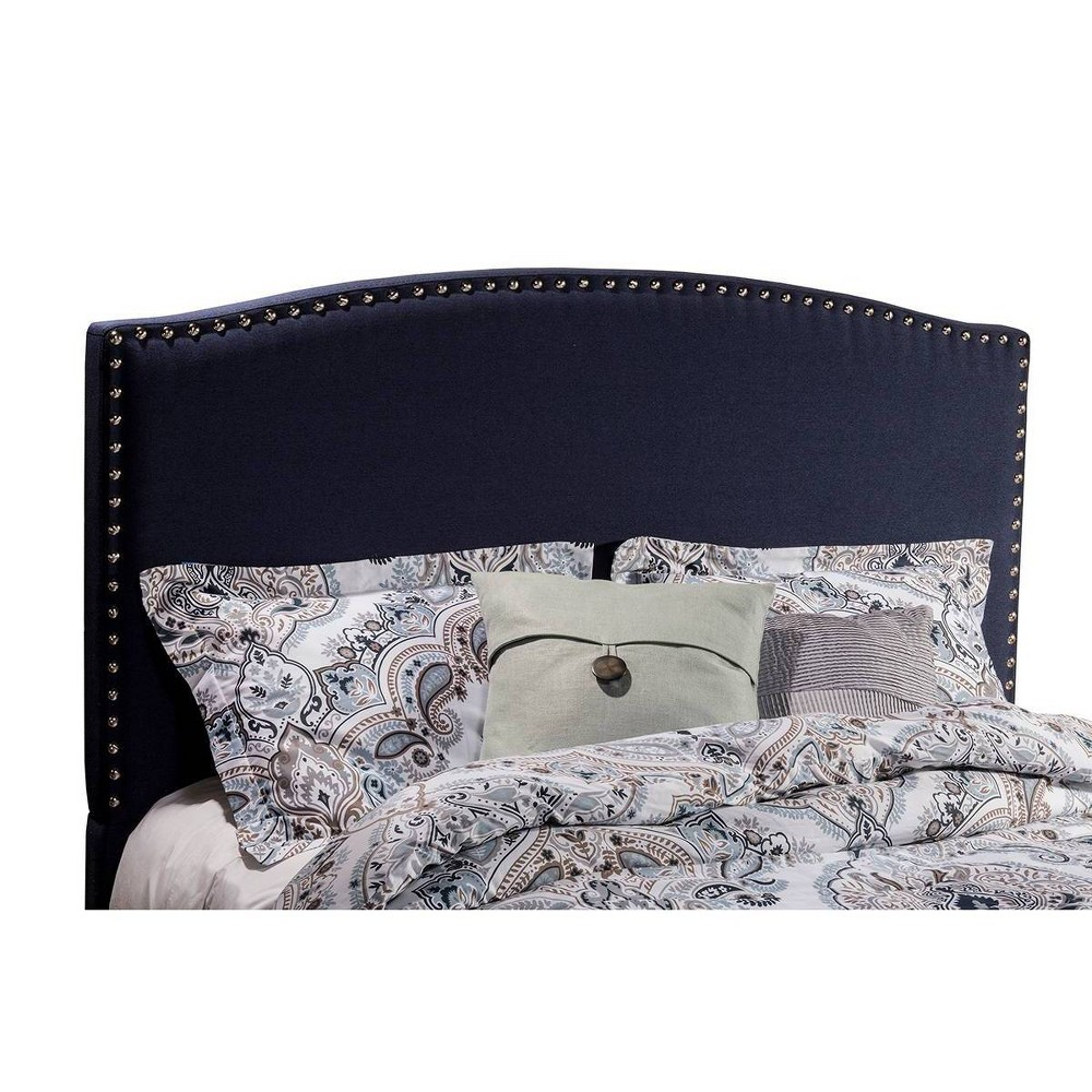 Queen Kerstein Fabric Headboard Navy - Hillsdale Furniture from Hillsdale Furniture