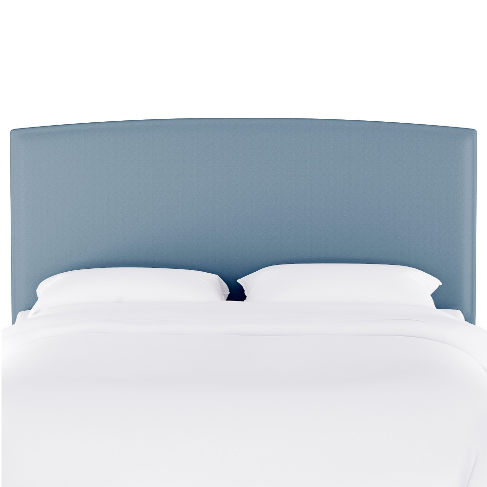 Queen Upholstered Headboard Light Blue Velvet - Opalhouse from Opalhouse