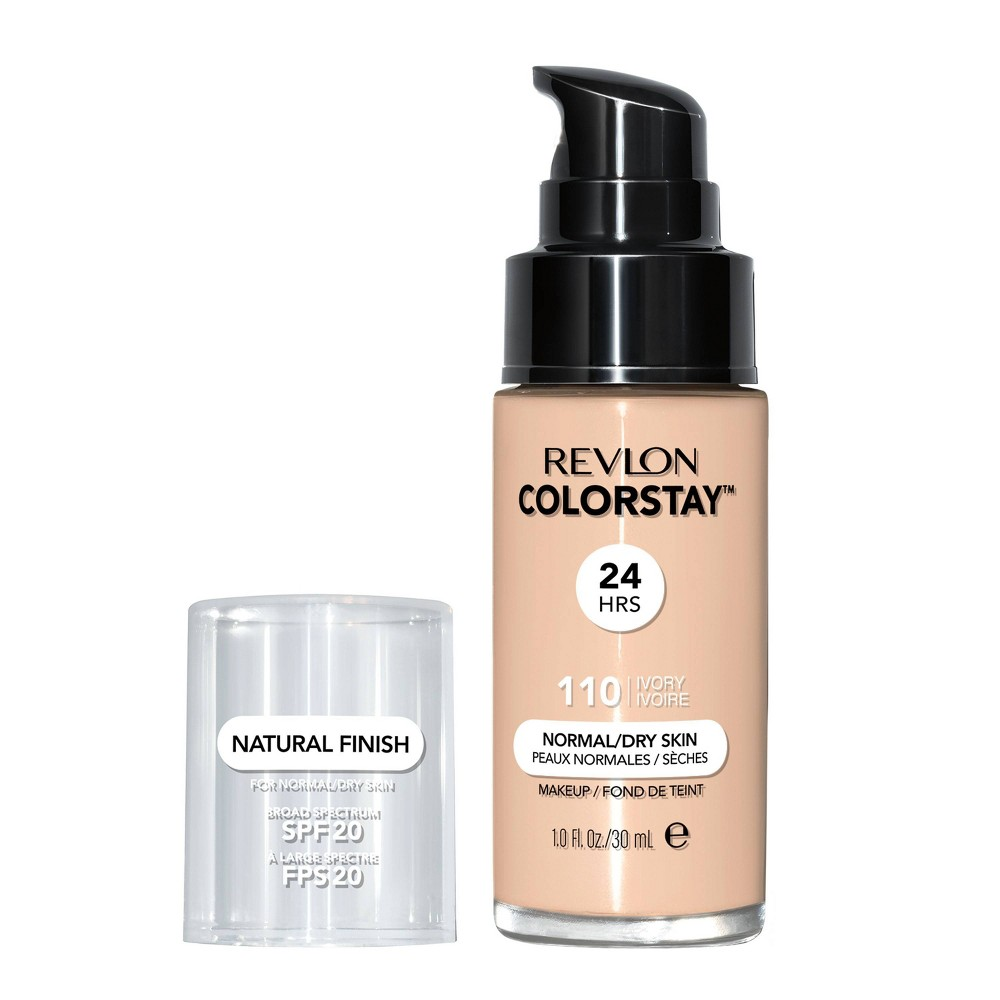 Revlon ColorStay Makeup for Normal/Dry Skin with SPF 20 - 110 Ivory - 1 fl oz from Revlon