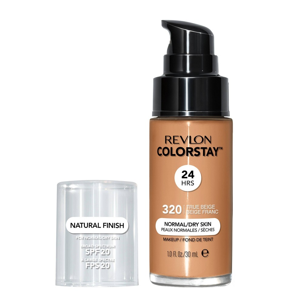 Revlon ColorStay Makeup for Normal/Dry Skin with SPF 20 - 320 True Beige - 1 fl oz from Revlon
