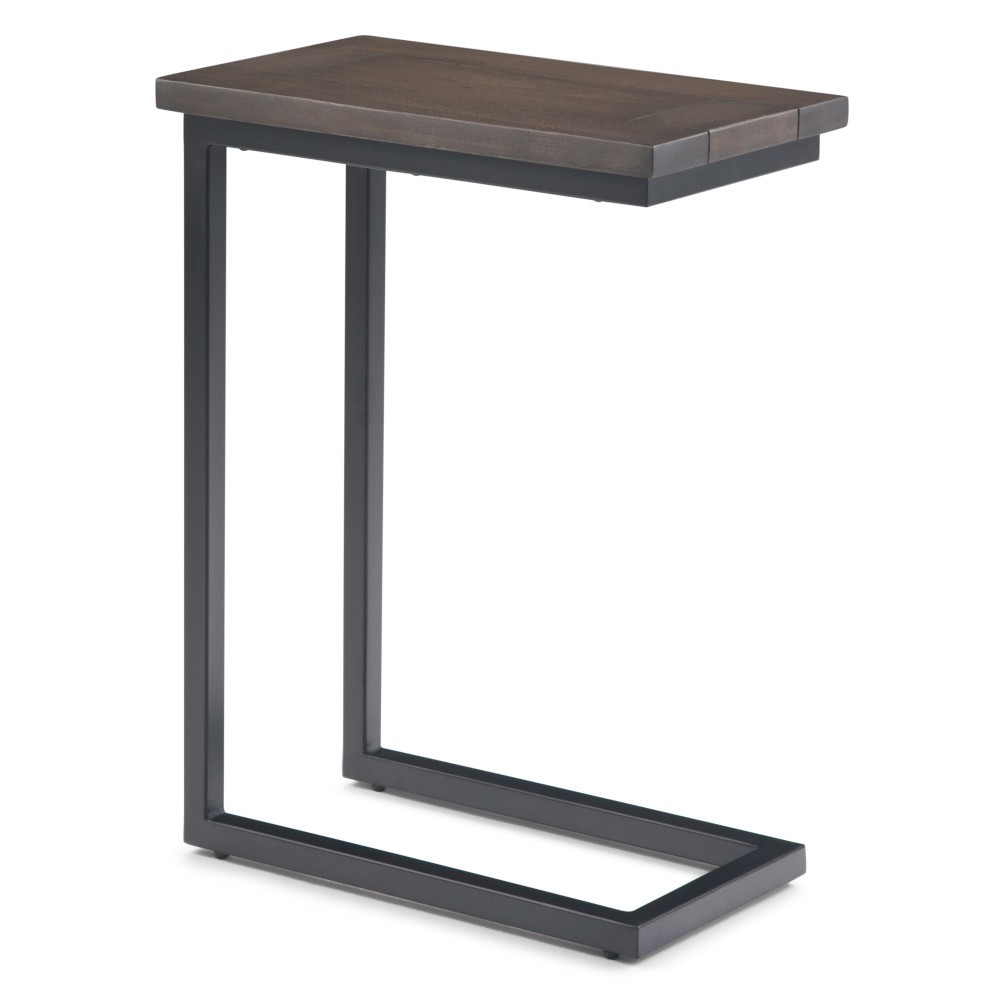 Rhonda C Side Table Walnut Brown - WyndenHall from WyndenHall