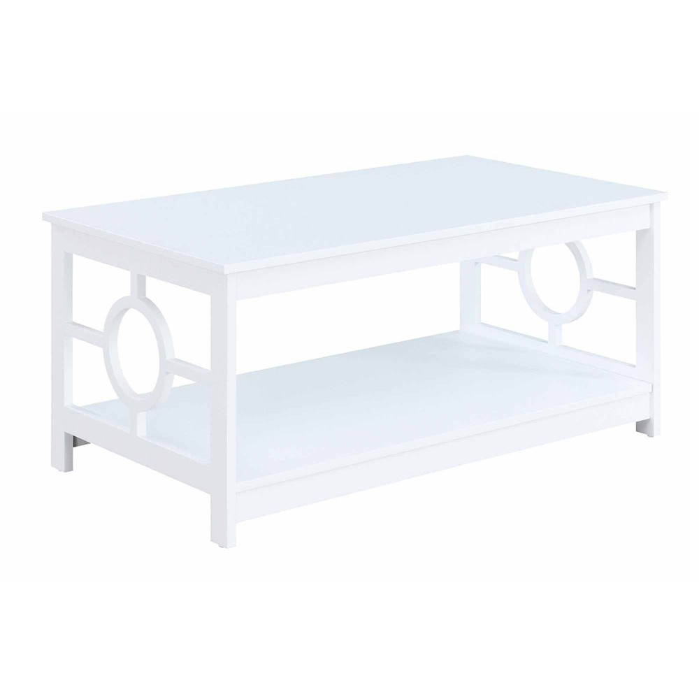 Ring Coffee Table White - Breighton Home from Breighton Home